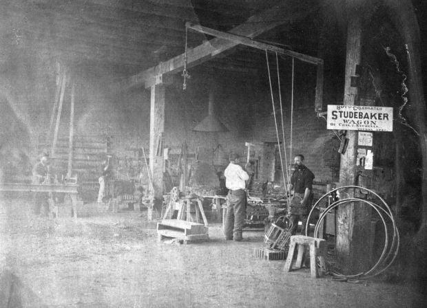 Bandy Blacksmith Guild - History