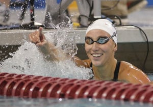 Swimming short stuff: UA's Geer caps impressive college career with NCAA win over Franklin