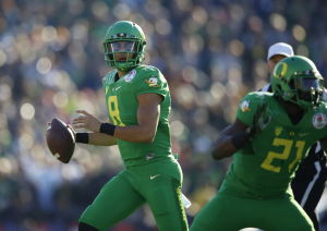 NCAA championship would put feather in Mariota's cap