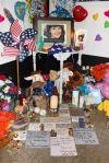 Una muestra de amor a las víctimas del tiroteo