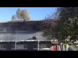 TFD Roger Road apartment fire