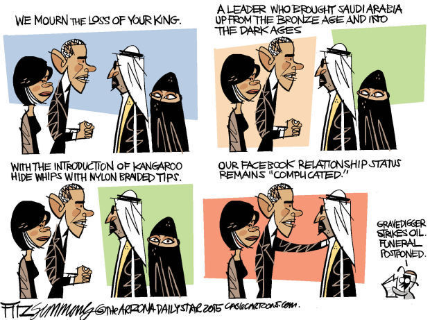 Daily Fitz Cartoon: Saud