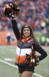 NFL cheerleaders, week 17