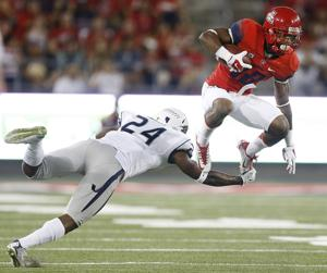 Photos: Arizona 35, Nevada 28