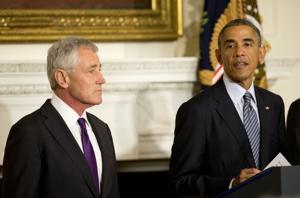 Hagel renuncia como secretario de Defensa