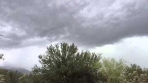 Time-lapse video of storm brewing