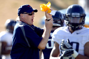 UA football: RichRod getting recruits in hurry