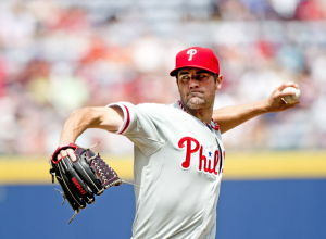 4 better than 1 as Phillies combine for no-no