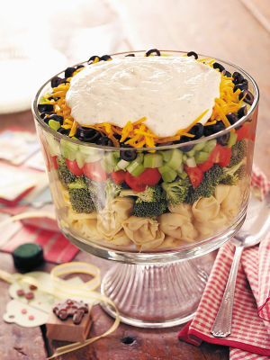 The 7-layer salad gets a makeover