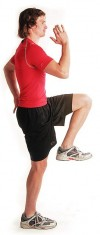 Let's do lunge, correctly