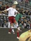 Soccer: Mexico 1, Denmark 1: Teams score on penalties for tie