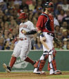 D-backs 7, Red Sox 6 On return to Fenway, Ross belts the winner