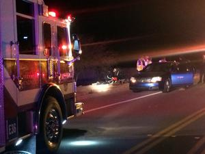 Motorcyclist injured in wreck NW of Tucson