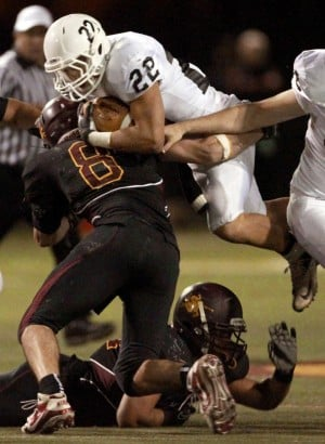 High school football: Linebackers key for Salpointe in push for state title