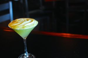 Cucumber foam makes Dante's martini sweet, ethereal