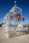 Tucson Oddity Bike Church is a walk-in sculpture