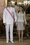 Prince Felipe, Princess Letizia,