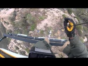 Video: Sheriff's helicopter crew rescue distressed hikers