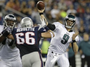 NFL: Nick Foles throws 2 TDs in Eagles' 27-17 win