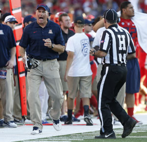 Arizona football: Rodriguez opposed to possible rule change