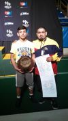 I-Ridge's Vega captures wrestling Triple Crown