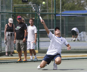 Photos: Div II high school tennis playoffs in Glendale