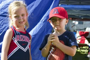 Photos: 'Childcats' show their UA spirit