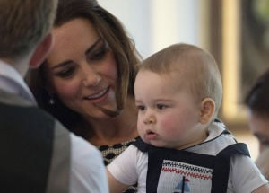 Photos: Baby prince, Kate win over New Zealand