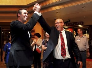 Kelly beats Paton in race to face Giffords