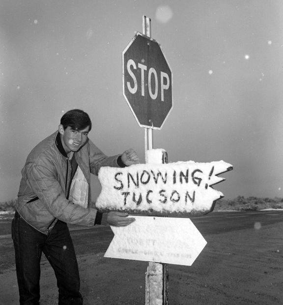 Throwback Thursday: 21 photos from the 1960s of Tucson snow