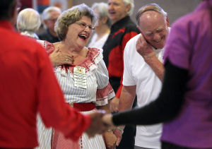 Square dance keeps feet busy at Udall