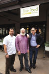 Michael Stebner, Andrew Weil and Sam Fox