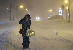 Tormenta golpea el noreste, pero sin la fuerza esperada