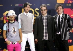 Café Tacvba playing Tucson's Rialto Theatre