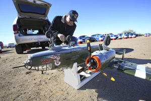 Small-scale warbirds take to skies