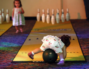 Toddler bowling