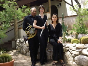 Ivory Wind Trio will perform Sunday