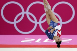 Gymnastics: Aly's turn to have the floor