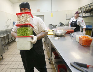 Food Bank increases its reach to needy with catering service