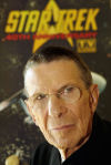 "Spock at a ""Star Trek"" convention"