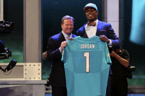 NFL Draft: 'Blind faith' guides Jordan, who becomes the highest Arizonan ever taken in NFL Draft