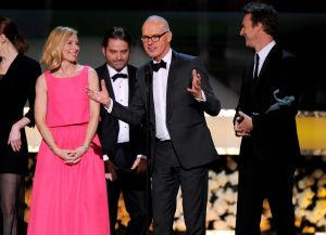 'Birdman' tops SAG Awards, Redmayne upsets Keaton