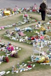 Future of tribute items unclear as dismantling of shrines starts