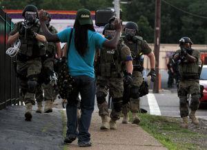 Photos: Unrest in Ferguson, Mo.