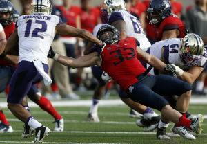 UA football: Wright garnering major national attention