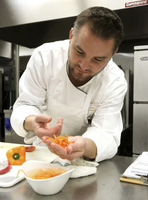 Cooking his way up the ladder at Miraval