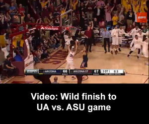 Video: Controversial finish to UA vs. ASU game