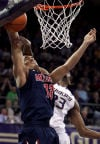 Pac-12 basketball No. 8 Arizona 57, Washington 53 Tenacious Cats hold on