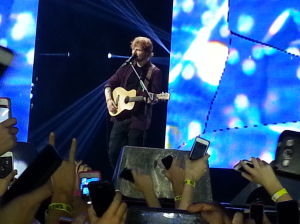 Review: Ed Sheeran's Arizona arena debut