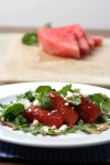 Keep cool with watermelon salad
